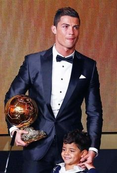 Cristiano Ronaldo - The Winner of FIFA Ballon d'Or Award 2013