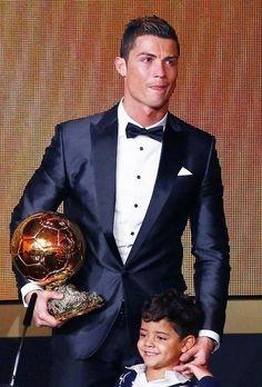 Cristiano Ronaldo - The Winner of FIFA Ballon d'Or Award 2013. #CR7 #BallonDor