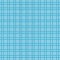 Camelot Cottons House Designer - Baby Dino - Gingham in Blue