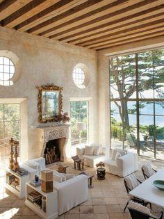 Richard Shapiro's refined Mediterranean villa