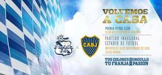 Puebla vs Boca Juniors en el Estadio Cuauhtémoc ¡En vivo por internet! - http://webadictos.com/2015/11/18/puebla-vs-boca-juniors-amistoso/?utm_source=PN&utm_medium=Pinterest&utm_campaign=PN%2Bposts