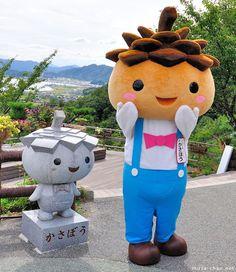 29 Wonderfully Cute And Quirky Japanese Mascots. the real japan, real japan, japan, japanese, cartoon, character, anime, animation, mascot, chara, sanrio, yuruchara, yuru-kyara, kumamon, hikonyan, tour, travel, explore, trip, adventure, gifts, merchandise, toys, dolls http://www.therealjapan.com/subscribe/