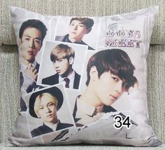 Kpop SHINee fashion BOYS MEET pillow