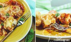 Blumenkohl mit Tomatensoße Low Carb Recipes, Cauliflower, Food Porn, Vegetarian, Snacks, Dishes, Meat, Chicken, Vegetables