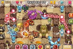 Tower Defense Game Elf Defense Eng for iPhone, iPad and iPod Touch