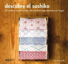 14428998fd El sashiko es una técnica japonesa de bordado muy antigua. En origen tenía  un uso