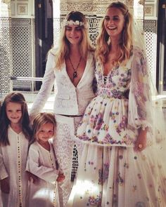 From pink-tinted frocks to jet-black gowns, click through for 12 celebrity brides who wore unconventional wedding dresses. Poppy Delevingne, Unconventional Wedding Dress, Nontraditional Wedding, Celebrity Wedding Dresses, Celebrity Weddings, Celebrity Style, Mamounia Marrakech, Marrakech Morocco, Cute Eye Makeup