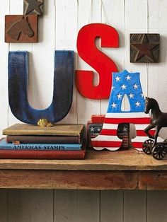 A great display using salvaged letters and books. By the winthrop chronicles.