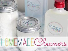 I Heart Organizing: May Mini-Challenge: Homemade Cleaners - Homestead Survival