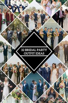 so many different ideas! Bridal Party Outfit Ideas