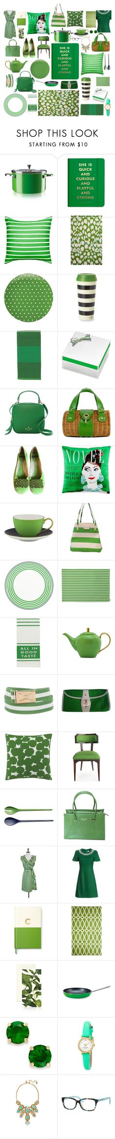 """""""Kate Spade Envy!"""" by tennnischik ❤ liked on Polyvore featuring interior, interiors, interior design, home, home decor, interior decorating, Kate Spade, GREEN, katespade and greenday"""