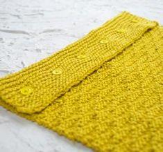 Triangles Towel - Free Knitting Pattern