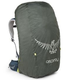 Osprey UltraLight Raincover, Shadow Grey, Large. Product Description FEATURES of the Osprey Ultralight Raincover Full wrap around cinch with secure hipbelt and harness attachment Packs into its own carrying case
