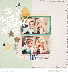 Love by Maggie Holmes > Studio Calico December Kits by maggie holmes at @Studio_Calico