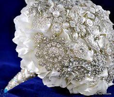 Crystal Empress Hydrangea #wedding #bouquet