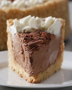 Crispy Rice Cereal Chocolate Cheesecake Recipe by Tasty