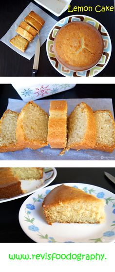 A soft, spongy and tangy Eggless Lemon Cake with a super delicious Lemon Glaze on top. Can be easily made Vegan too.