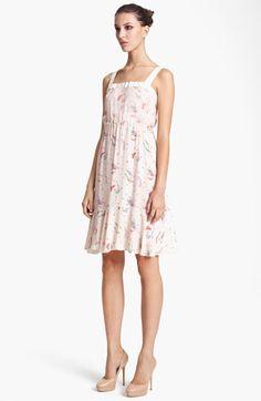 Nina Ricci Print Tank Dress available at #Nordstrom