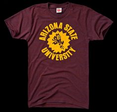 One of my favorite vintage-y ASU shirts. I got this one from Sparky s  Stadium Shop during last year s spring game d6fcd72ae