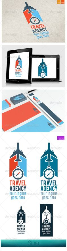 Travel Agency V1 Logo — Vector EPS #plan #vacation • Available here → https://graphicriver.net/item/travel-agency-v1-logo/8405327?ref=pxcr