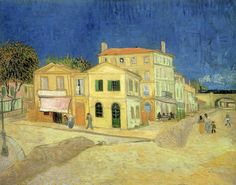 The Yellow House - Vincent van Gogh    1888