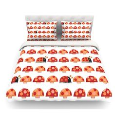 The Three Amigos Duvet Cover By Oneartsymomma Ladybugs Ladybirds Covers Pinterest And Ladybird