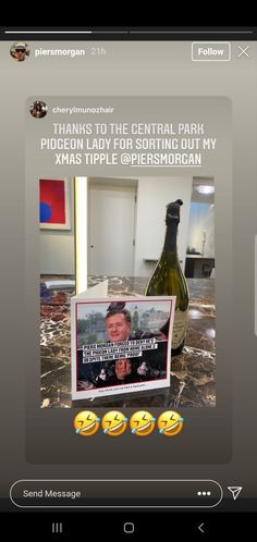 Piers Morgan, Home Alone, Central Park, Send Message, Xmas, Thankful, Messages, Christmas, Navidad