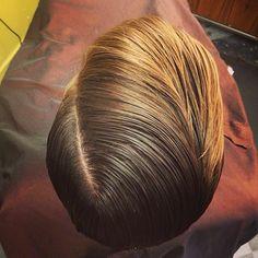 ducktail Cool Haircuts, Haircuts For Men, Slick Hairstyles, Male Hairstyles, Pelo Popular, Hair Flow, Fade Haircut, Great Hair, Hair Trends