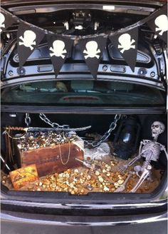 Pirate trunk or treat. Photo courtesy of Tipjunkie