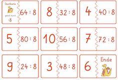 Lernstübchen: weiter Dominos zu den Geteiltaufgaben