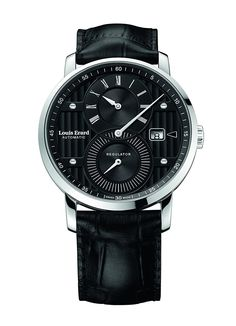 Amazon.com: Louis Erard Excellence Collection Swiss Automatic Selfwinding Black Dial Men's Watch 86236AA02.BDC51 …: Watches