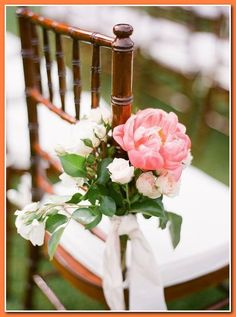 Planning a wedding on a budget can create it hard to look at the big picture. instead of getting overwhelmed by all the major details and the price tags... * Check out the image by visiting the link. Wedding Aisles, Farm Wedding, Summer Wedding, Wedding Chair Decorations, Wedding Chairs, Flower Decorations, Decor Wedding, Wedding Themes, Floral Wedding