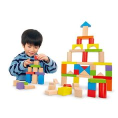 The Imaginarium Wooden Block Set, a Toys R Us exclusive, includes 37 natural and 38 colored blocks. Toys R Us, All Toys, Toys For Boys, Girls Toys, Blocks For Toddlers, Kids Blocks, Painting Activities, Craft Activities For Kids, Baby Activities