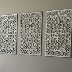 Outdoor Wall Decor Large room divider from hobby lobby, large wall art, easy cheap project