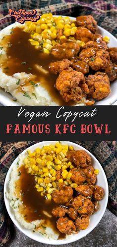Vegan Dinner Recipes, Beef Recipes, Cooking Recipes, Healthy Recipes, Vegetarian Recipes, Cooking Tips, Vegan Kfc, Vegan Foods, Vegan Junk Food