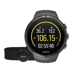 Suunto Spartan Ultra Stealth Titanium GPS watch with color touch screen and heart rate monitoring http://www.rimsportsgear.com/