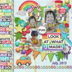 Layout using {Dough} Digital Scrapbook Kit by Kristin Aagard http://scraporchard.com/market/digital-scrapbooking-kit-dough.html with {May Blossom Vol. 2} Digital Scrapbook Template by Dagi's Temp-tations http://store.gingerscraps.net/May-Blossom-Vol.2.html