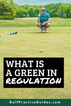 It's important to understand basic golf terms like fairways in regulation, greens in regulation, par, birdie, etc. In this article we break down what a green in regulation is in golf and why it matters to your golf scores. Click to see these beginner golf tips #Golf #golftips #golfcourse