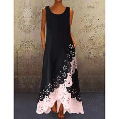 LightInTheBox - Παγκόσμιες Online Αγορές για Φορέματα, Σπίτι & Κήπος, Ηλεκτρονικά Προϊόντα, Ένδυση Γάμου Women's A Line Dresses, Cheap Maxi Dresses, Half Sleeve Dresses, Types Of Dresses, Womens Swing Dress, Manga Floral, Plus Size Formal Dresses, Vacation Dresses, Women's Fashion Dresses