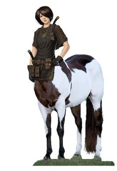 Centaur Rangers -Private-Tec support by mplumb on DeviantArt Character Creation, Fantasy Character Design, Character Concept, Character Inspiration, Character Art, Magical Creatures, Fantasy Creatures, Dnd Characters, Fantasy Characters