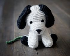 Free Crochet Puppy Pattern 4