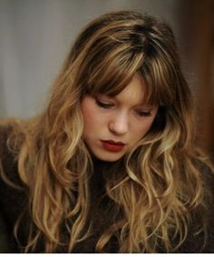 Bilderesultat for lea seydoux hair
