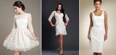 Кружево в винтажном платье невесты