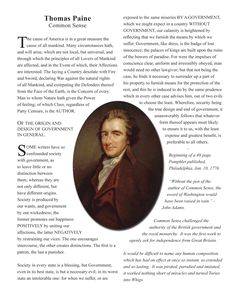 Common Sense by Thomas Paine by JacobCaneCo on Etsy Thomas Paine, Common Sense, Reflection, Etsy