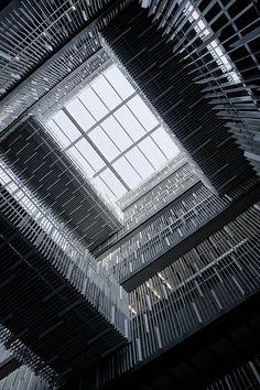 Kengo Kuma Architecture Awards, Gothic Architecture, Contemporary Architecture, Architecture Design, Kengo Kuma, Architectural Elements, Skylight, Landscape Design, Facade
