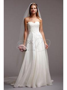 Nicole Miller Dakota Bridal Gown I love how the bottom seams to ...