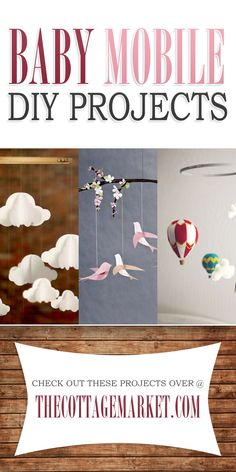 Baby Mobile DIY Projects - The Cottage Market