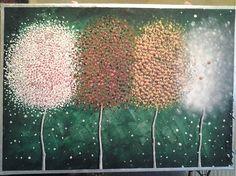 lajra / styri rocne obdobia Dandelion, Flowers, Plants, Pictures, Painting, Art, Photos, Art Background, Dandelions