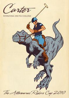 Allosaurus Riders Polo Cup - Jay Jay Burridge for Jamie's Dinersaurs