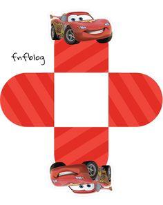 Uau! Veja o que temos para Forminha 3D Carros Disney